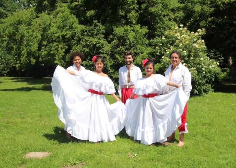 """Tanz """"el Festejo"""" aus Peru"""
