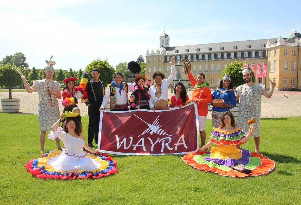 """Die Tanzgruppe """"Wayra"""" stellt sich vor"""