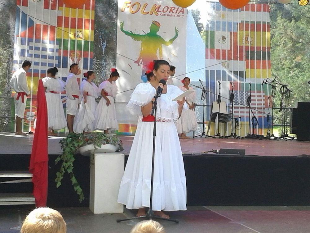 """Der """"Festejo"""" Tanz aus Peru, """"Internationales Stadtfest"""" in Rastatt"""